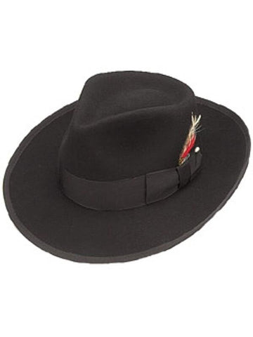 Wool Felt Zoot Suit Hat-COSTUMEISH
