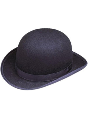 Wool Felt Derby Hat-COSTUMEISH