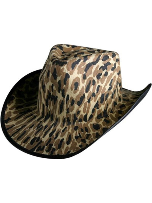 Leopard Cowboy Hat-COSTUMEISH