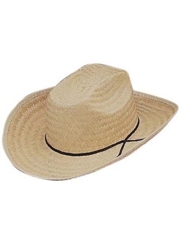 Adult Straw Cowboy Hat-COSTUMEISH