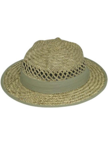 Adult Lindu Straw Pith Hat