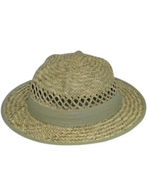 Child Lindu Straw Pith Hat-COSTUMEISH