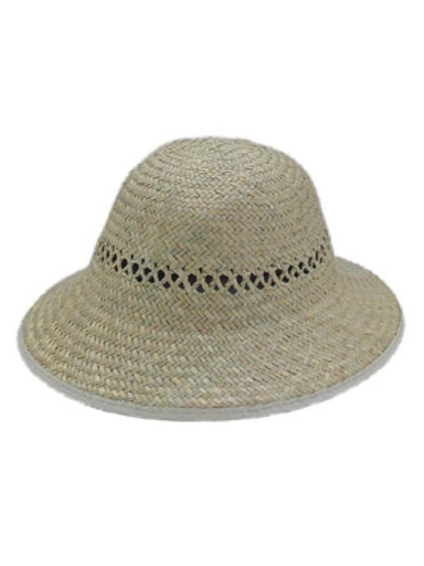 Seagrass Pith Helmet Hat-COSTUMEISH