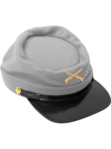 Wool Confederate Cap-COSTUMEISH