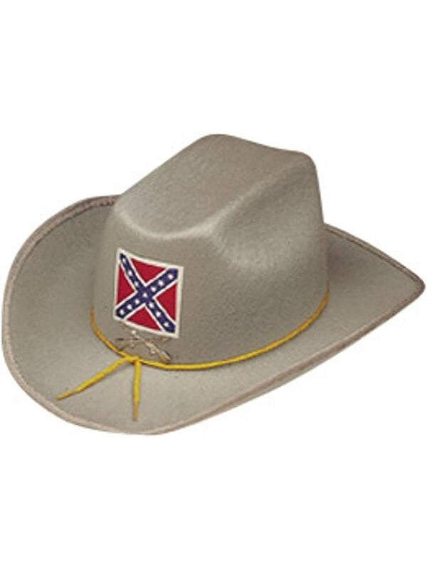 Deluxe Confederate Officer Hat-COSTUMEISH