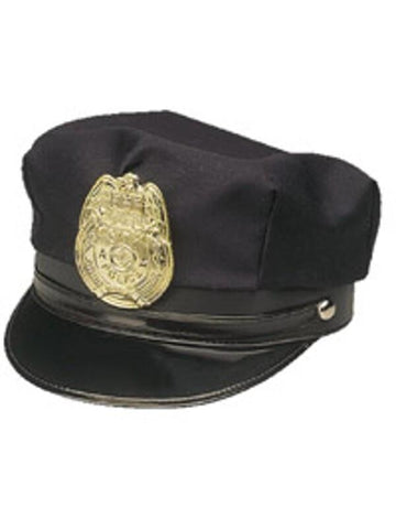 Police Hat With Badge-COSTUMEISH
