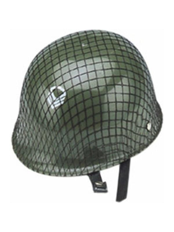 Child Plastic Army Helmet-COSTUMEISH