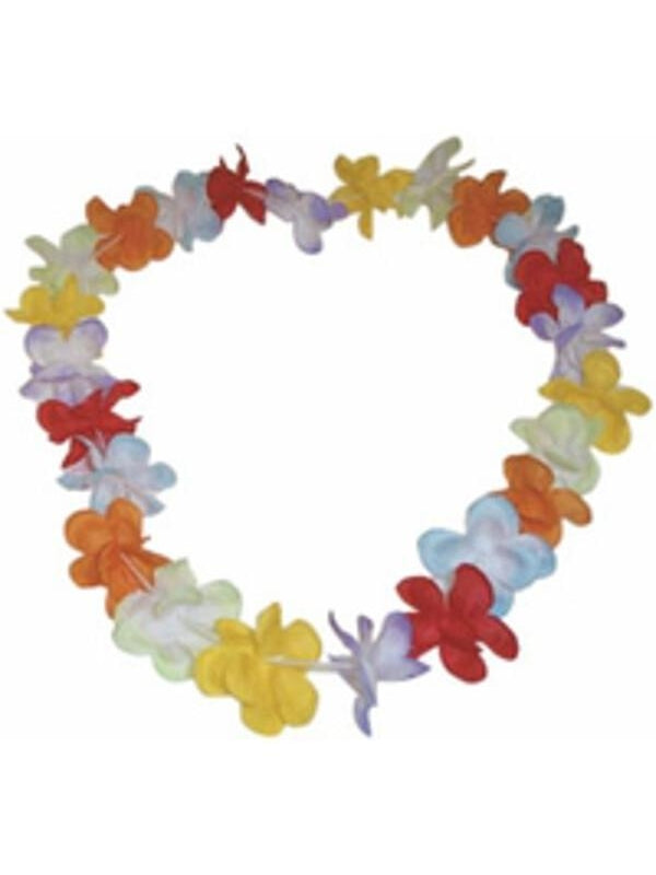 Hawaiian Flower Lei-COSTUMEISH