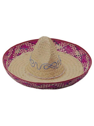 Straw Sombrero Hat-COSTUMEISH