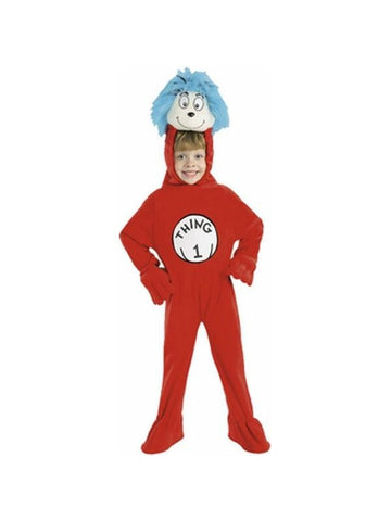 Child's Cat in the Hat Thing 1 Costume-COSTUMEISH
