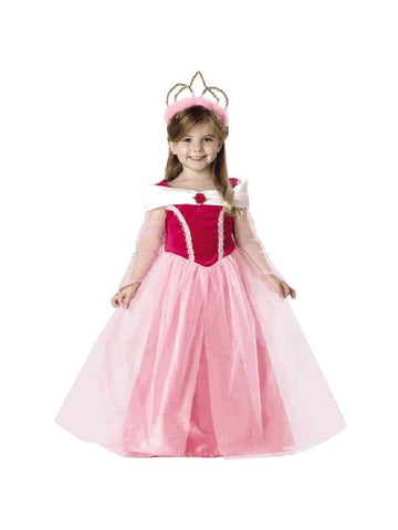 Child Sleeping Beauty Dress Costume-COSTUMEISH