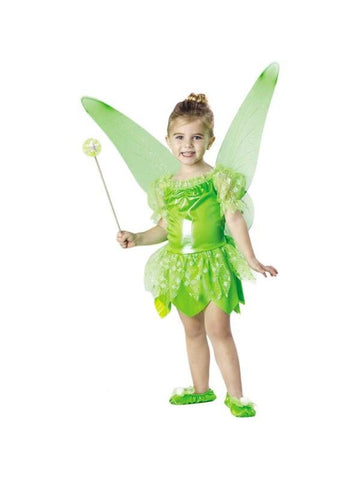 Toddler Green Tinkerbell Fairy Costume-COSTUMEISH
