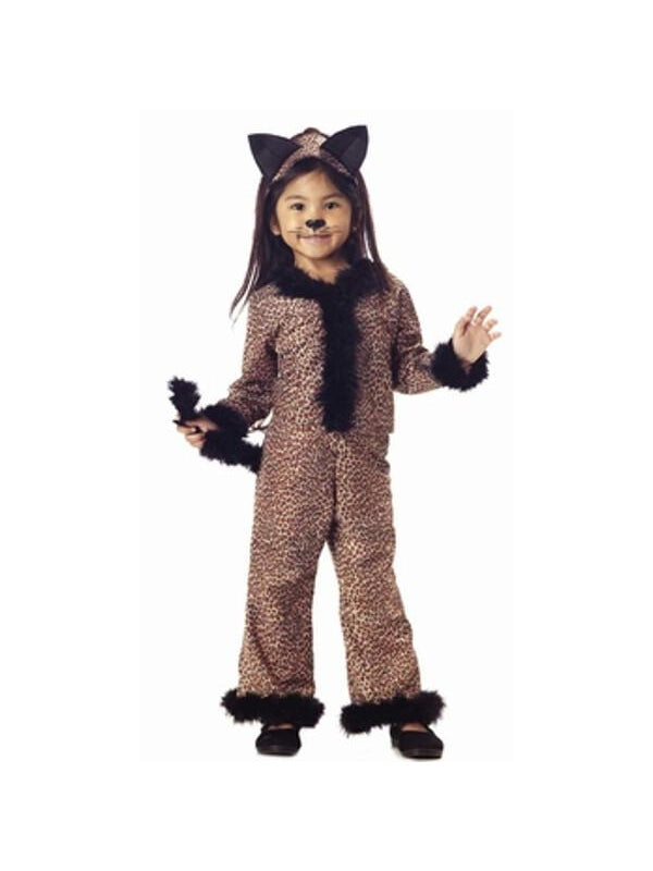 Toddler Leopard Girl Costume-COSTUMEISH