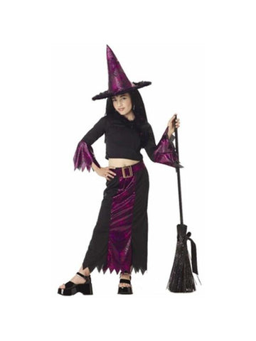 Child's Jazzy Witch Costume-COSTUMEISH