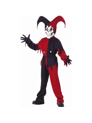 Child's Wicked Jester Costume-COSTUMEISH