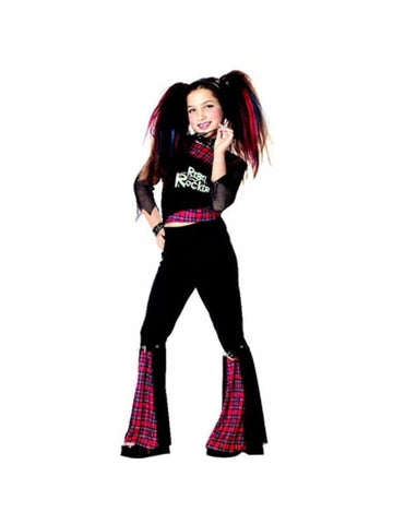 Child's Rebel Punk Rocker Girl Costume-COSTUMEISH