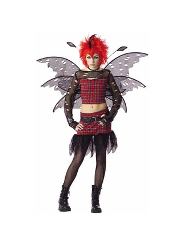 Teen Punk Fairy Costume-COSTUMEISH