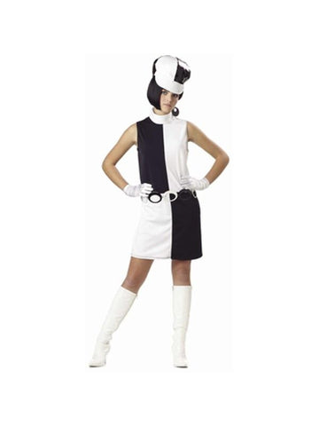 Teen Go Go Girl Costume-COSTUMEISH