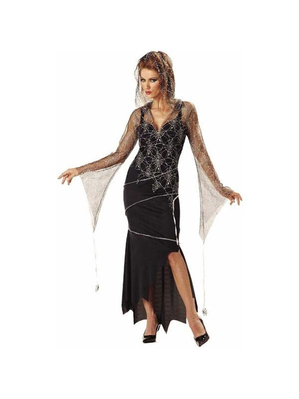 adult spider goddess witch costume - Spider Witch Halloween Costume