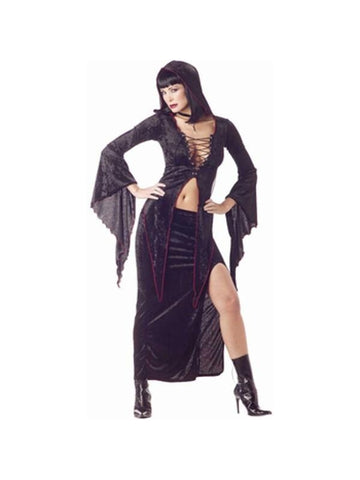 Adult Black Maiden Of Darkness Costume