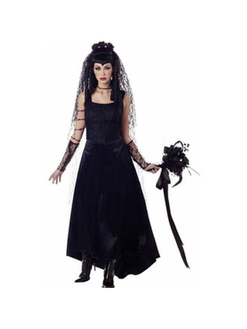 Adult Gothic Bride Costume-COSTUMEISH