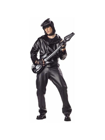 Adult Heavy Metal Rocker Costume-COSTUMEISH