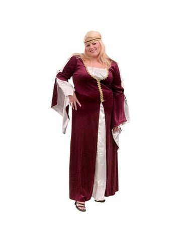 Adult Plus Size Regal Princess Costume-COSTUMEISH