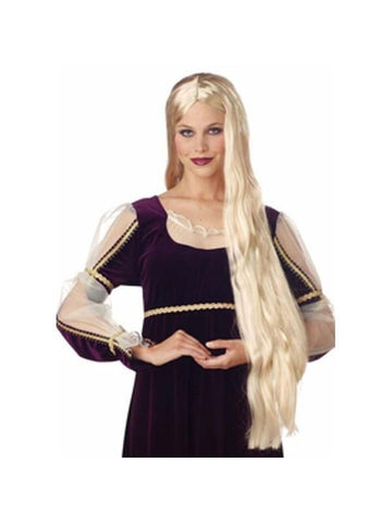 Adult Super Long Blonde Wig-COSTUMEISH