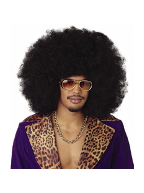 Black Jumbo Afro Wig-COSTUMEISH