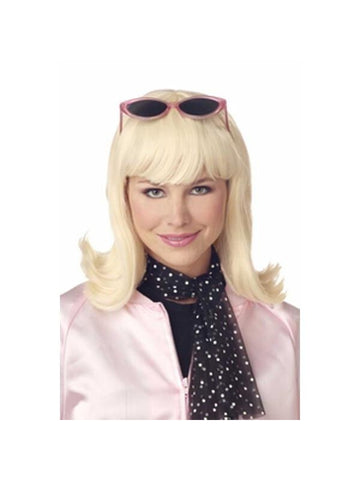 Women's 50's Style Blonde Wig-COSTUMEISH