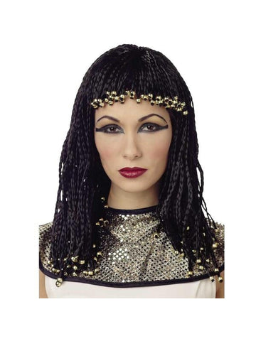 Beaded Cleopatra Wig-COSTUMEISH