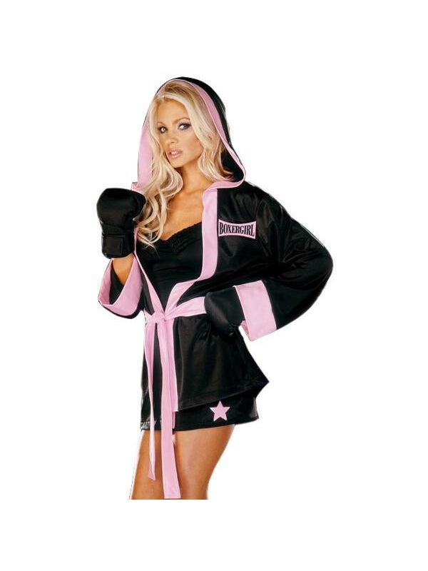 Adult Sexy Boxer Costume-COSTUMEISH