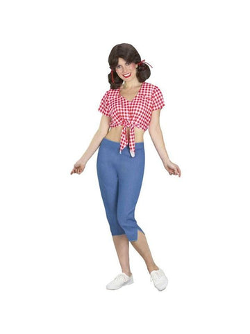 Adult Mary Ann Gilligans Island Costume-COSTUMEISH
