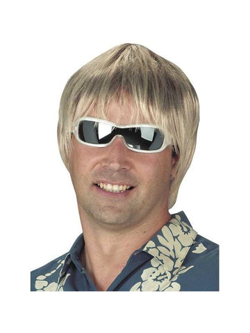 Adult Blonde Surfer Dude Wig-COSTUMEISH