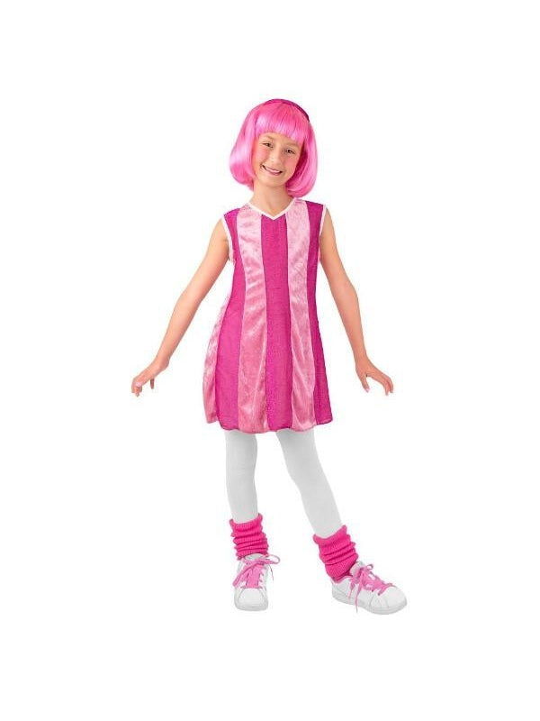 Toddler Lazy Town Stephanie Costume-COSTUMEISH