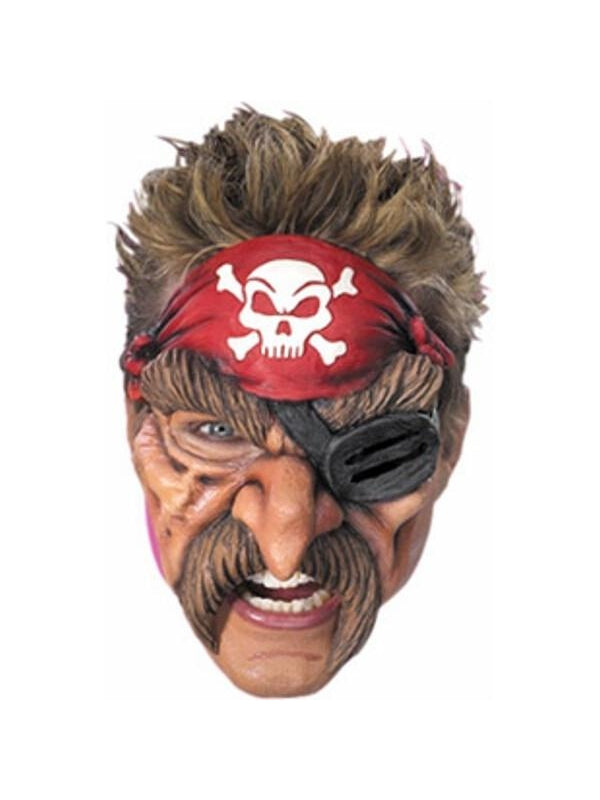 Adult Pirate Mask-COSTUMEISH