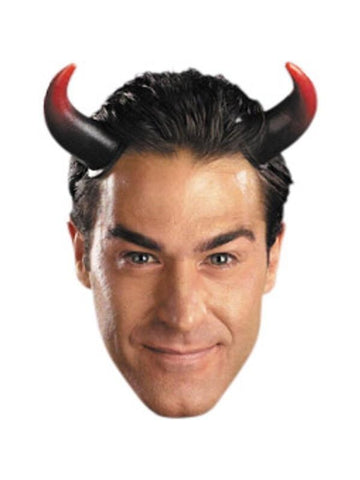 Oversized Devil Horns Headpiece