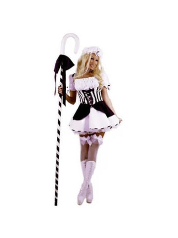 Adult Blue Sexy Little Bo Peep Costume-COSTUMEISH