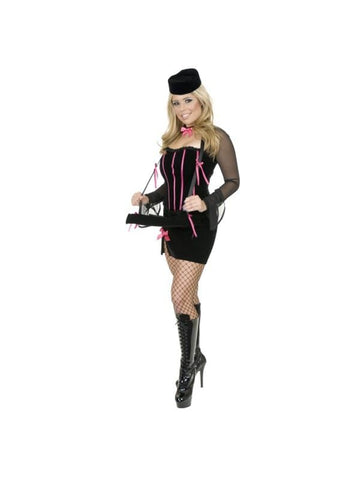 Adult Cigar Girl Costume-COSTUMEISH