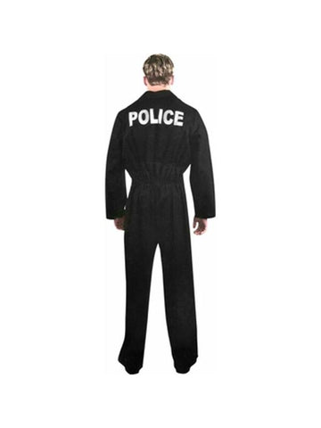 Adult Police Uniform Jumpsuit Costume