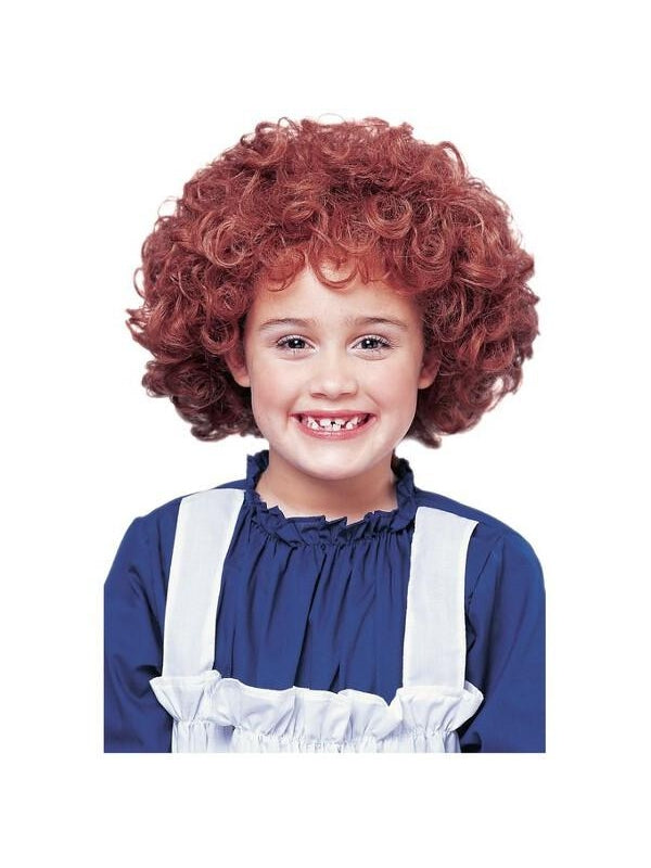 Child Annie Orphan Wig-COSTUMEISH