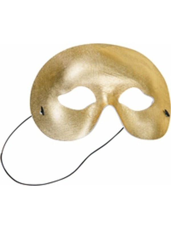 Adult Gold Eye Mask-COSTUMEISH