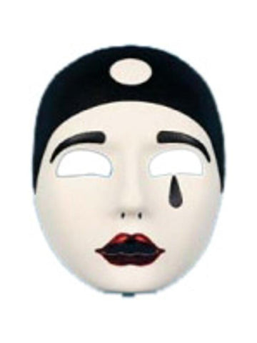 Adult Pierrot Mask-COSTUMEISH