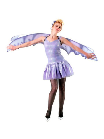 Adult Purple Nymph Costume Wings-COSTUMEISH