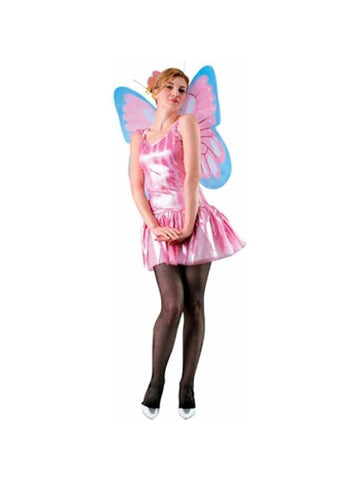 Adult Pink Butterfly Costume Wings-COSTUMEISH