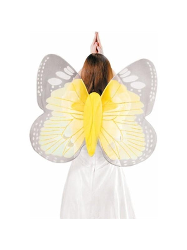 Adult Yellow Butterfly Costume Wings-COSTUMEISH