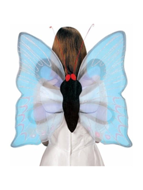 Adult Lavender Butterfly Costume Wings-COSTUMEISH