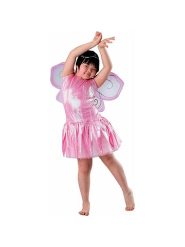 Child's Pink Fairy Costume Wings-COSTUMEISH