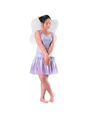 Child's White Fairy Costume Wings-COSTUMEISH