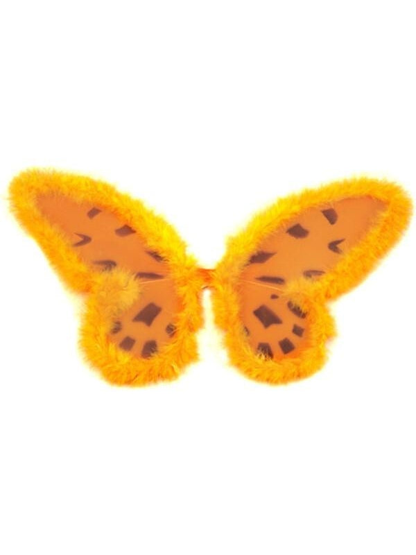 Child's Orange Butterfly Costume Wings-COSTUMEISH